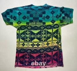 Vintage Disney The Lion King Scar All Over Imprimer T-shirt Homme Tie Dye Film 90s