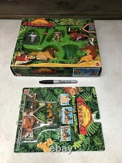 Vintage Mattel Lion King De Disney Jeu De Figurine D'action 1994 Simba + Pride Rock Nouveau