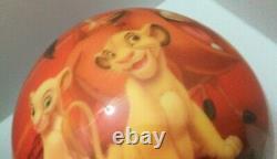 Viz-a-ball Krc1239 Le Lion King Ball De Bowling Pour Les Jeunes Avec Disney Bag Nouveau Non Percé