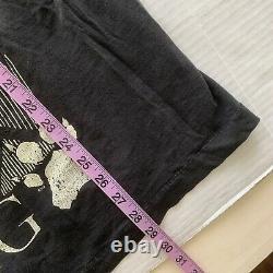 Vtg Années 90 Disney The Lion King Simba Black Single Stitch Movie Promo T Shirt XL