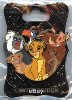 Walt Disney Imagineering Caractère Cluster Le Roi Lion Pin