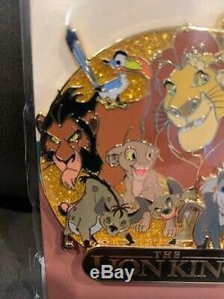 Walt Disney Le Roi Lion Cluster Le 250 Exclusif Pin, Avec Simba Jon Favreau