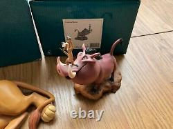 Walt Disney Wdcc Roi Lion Simba Rafiki Le Cercle Continue Pumbaa Timon Mufasa