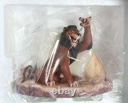 Wdcc Disney Lion King Scar Life's Not Fair, Is It Mint Coa Box Never Displayed