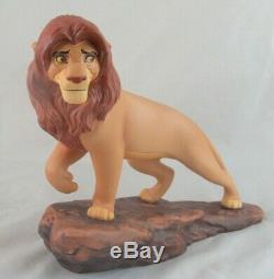 Wdcc La Fierté De Simba Simba De Le Roi Lion En Boîte De Disney Avec Coa