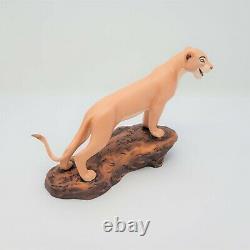 Wdcc Le Roi Lion Nala's Joy 5th Anniversary Sculpture Figure Avec Coa & Box