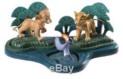 Wdcc Simba Nala Zazu & Base 1994 Le Disney Lion King Limited Edition Classique