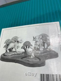 Wdcc Walt Disney Le Roi Lion Simba Nala Et Zazu Set Avec Base Coa