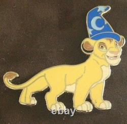 Wdi Disney Imagineering 2014 Sorcier Lion King Framed Set Le 200 Ap Simba Nala