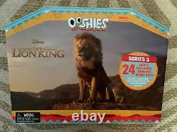 Woolworths Disney Le Roi Lion Ooshies Série 2 + 6 Grandes Ooshies Set Complet