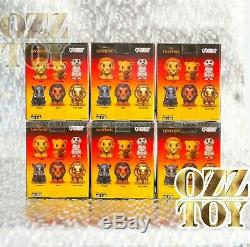 Woolworths Roi Lion Ooshies Grand Grand Jeu Complet Rare Gold Simba Ozz Toy Ooshie